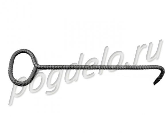 Крюк для открывания крышки гидранта