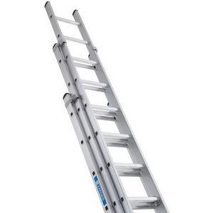 Лестница 3-х коленная  выдвижная