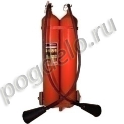 Огнетушитель углекислотный ОУ-15 (20) в сборе