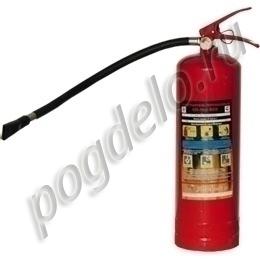 Огнетушитель порошковый ОП-4 (з) АВСЕ ЯрПожИнвест