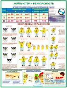 computer_security_2_221x286 Комплект плакатов Компьютер и безопасность: купить в Москве | цены в магазине «Техарсенал»