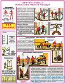 """gas_safety_2_221x286 Комплект плакатов """"Безопасность работ в газовом хозяйстве"""": купить в Москве   цена от 670 руб. в магазине «Техарсенал»"""