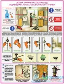 """gas_safety_4_221x286 Комплект плакатов """"Безопасность работ в газовом хозяйстве"""": купить в Москве   цена от 670 руб. в магазине «Техарсенал»"""