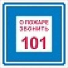 pozarnoibezopasnosti-znaki-018_221x286 K 28 При пожаре звонить 101 10х10 см: купить в Москве | цена от 24 руб. в магазине «Техарсенал»