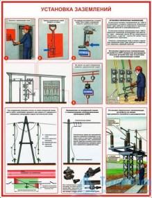 tech_elektrobez_4_221x286 Комплект плакатов Технические меры электробезопасности: купить в Москве | цена от 685 руб. в магазине «Техарсенал»