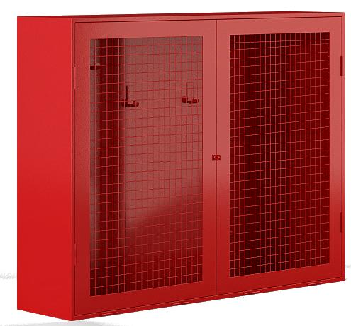 Стенд металлический закрытого типа (сетка) (без комплекта)  1200х700х300