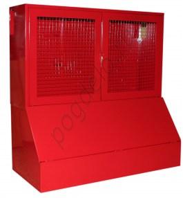 Стенд Универсальный с ящиком для песка 0.3 м.куб. с сеткой