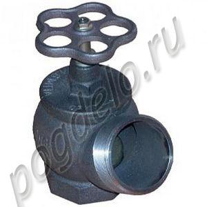 Клапан чугунный угловой пожарный  РПТК-65 (угол 125)