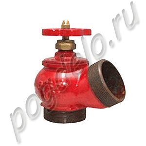 Вентиль пожарный КПЧ-50-2 (угол 125) ц/ц (чугун)