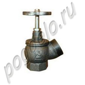 Клапан чугунный угловой РПТК-50 (угол 125)