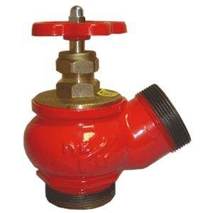 Вентиль пожарный КПЧ-65-2 (угол 125) ц/ц (чугун)