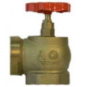 Вентиль пожарный КПЛМ-65-1 (угол 90) м/ц (латунь)